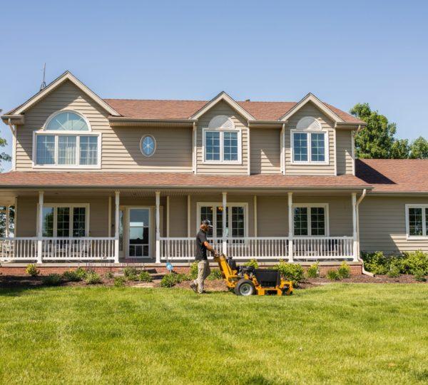 Omaha Nebraska   Lawn Care Services Provided